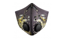Maska antysmogowa M1 Digi Yellow